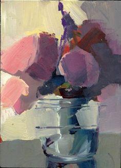 1405 Circling, painting by artist Lisa Daria Kennedy