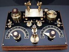 Your Crystal Radio Set Headquarters – More Crystal Radios, Page 2 Diy Electronics, Electronics Projects, Radio Vintage, Lps, Steampunk Design, Jules Verne, Ham Radio, Tv On The Radio, Crystals