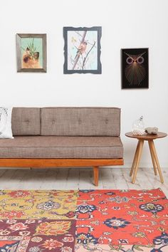 The Easiest Way To Upgrade Your Apartment: A Killer Sofa #refinery29  http://www.refinery29.com/patterned-couches#slide-1  Urban Outfitters Mid-Century Sofa, $479, available at Urban Outfitters. ...