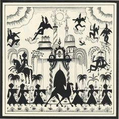 Kay Nielsen - Arabian nights