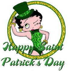 happy st. patrick's day! also, <3 betty boop the mostest.