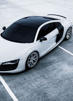 Baby take me for a spin! Love. R8.