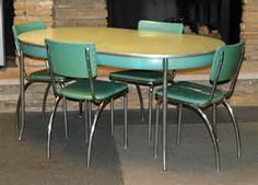 Howell Chromsteel 1950s kitchen/dinette