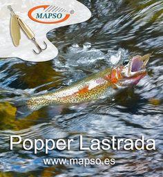Popper Lastrada  http://mapso.es/es/82-Popper-LASTRADA-cucharillas-para-pesca Fishing Spinner & Spoons