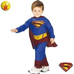 Superman Preescolar #infantil #disfraces
