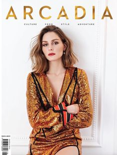 Olivia Palermo for Arcadia Magazine Spring 2018 Cover