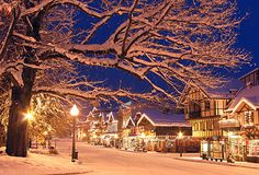Leavenworth WA in the winter... I could die.