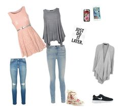 """""""Jóhanna style"""" by brimrune ❤ liked on Polyvore featuring Mode, Glamorous, Alexander Wang, NIKE, Aéropostale, Forever 21, Rebecca Minkoff und Topshop"""