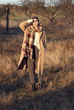 Get this look: http://lb.nu/look/7997780 More looks by Maria Joanna: http://lb.nu/marietales Items in this look: Stradivarius Glasses, Zara Scarf, Primark Atmosphere Camel Coat, Stradivarius Boots #casual #romantic #vintage