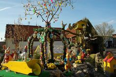 Easter In Germany | In Germany they use to decorate wells for Easter... now THIS is what I ...