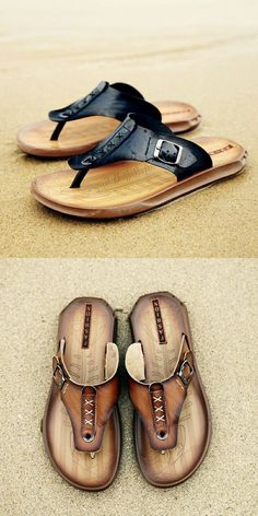 6b886a0d457 US  21.40 Prelesty Beach Holiday Outdoor Men Flip Flops Summer Pool Water  Shoes Casual Outdoor Fashion Casual Shoes Slippers Indoor Sandal