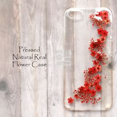 JDY Pressed Real Flower DIY Bling Hard Skin Case Cover Samsung iPhone in Cell Phones & Accessories   eBay