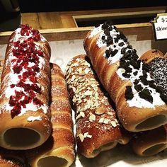 How tasty do these look! www.kurtos-kalacs.com