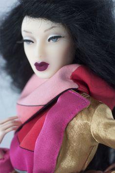 Chlöé Paris Bruxelles www.fashiondollagency.com  Fashion Doll 16 inches