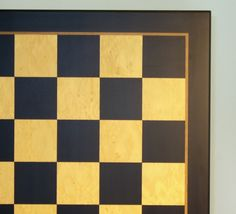 """New product and it ships FREE! ALL games ship FREE now thru Christmas! Beautiful LARGE Black/Madrona Burl veneer chess board with 2.5"""" squares featuring a brown inlaid stripe 1.5"""" frame, measurements are 23.5"""" x 23.5"""" x 0.600"""". #largewoodchessboards #freeshipping"""