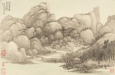 Landscapes after Ancient Masters Wang Hui  (Chinese, 1632–1717) Period: Qing dynasty (1644–1911) Date: dated 1674 and 1677 Culture: China