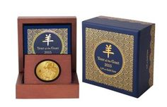 2015 Lunar Year of the Goat - 1/4 oz Gold coin by NZ Mint.