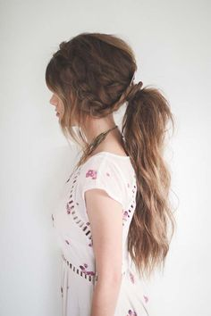 Tips To Instantly Make Your Hair Look Thicker - Hair How-To: Sexy, Messy PonytailThe Double Dutch Up-Do Perfect for Brides, Bridesmaids, and Wedding Guests - DIY Products, Step By Step Tutorials, And Tips And Tricks For Hairstyles That Make Your Hair Look Thicker. Hair Styles Like An Updo Or Braiding And Braids To Make Your Hair Look Thicker And Longer Naturally. How To Use Ponytail Hairstyles And Tips To Make Haircuts Look Thicker With More Volume. How To Get More Volume With Castor Oil…
