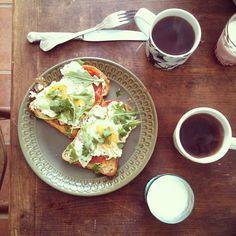 Breakfast eggs by @chrisriprecords » @cookyourdream » Instagram Profile » Followgram