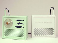 Good ol Matt Brown's whale song transistor. http://www.core77.com/blog/columns/design_fancy_cyprien_ct_18141.asp