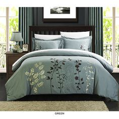 3-Piece Set: Kaylee Duvet Cover Collection - Assorted Colors at 69% Savings off Retail!