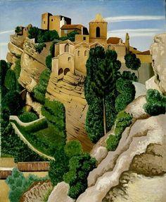 Landscape near Vaison la Romaine - Auguste Herbin (1882 - 1960)
