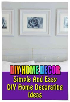 26 Best DIY Home Decor images in 2019   Diy ideas for home