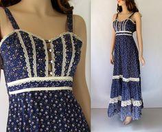 Gunne Sax Dress / 70's Gunne Sax Dress / by BeatniksVintage, $75.00