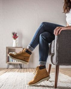 Kenniston lace-up boots by Timberland in nubuck