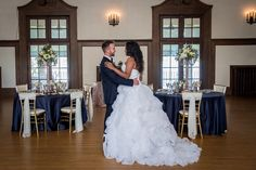 Detroit Yacht Club Wedding Inspiration | Mike Staff Productions | Régine Danielle Events | Reverie Gallery Wedding Blog