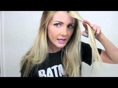 A tutorial on how you can trim all your dead ends but keep your length to help your hair grow!!