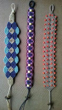 Roda Viva - Arte Roots | Macrame bracelets