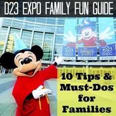 The D23 Expo Family Fun Guide