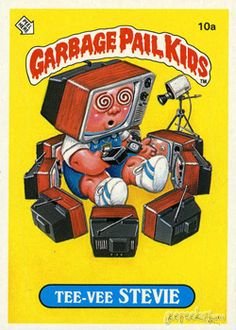 9b2bcd3fe 74 Best Garbage Pail Kids Cards images in 2014 | Garbage pail kids ...