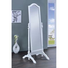 Coaster Furniture Jewelry Storage Cheval Mirror 19W x 60H in
