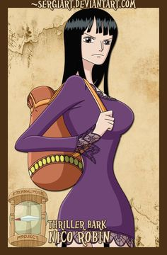 EPP - Thriller Bark: Nico Robin by *SergiART on deviantART