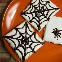 Spider Web S'mores #MyAllRecipes