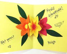 Toivottakaa kevät tervetulleeksi tällä värikkällä kukkayllätyksellä!