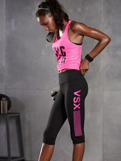 ♥ VSX Sport | Victoria's Secret Workout Clothes for Women #exercise #fitness #workout #yoga #muscle #gym #vsx #Sportsbra #leggings #abs #running SHOP @ FitnessApparelExpress.com