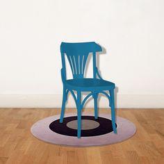 Cadeira Opzione Azul