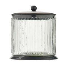 Tired of hiding your trinkets away? Display them beautifully in this fab vintage glass storage jar. Priced at £7.