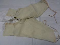 Image courtesy of the Bankfield Museum and Halifax Museum Group 1810-20, sous culotte en laine