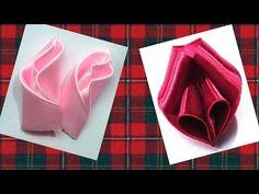 Ribbon flowers petals tutorial, Petals Kanzashi Tatiana Vasyliuk, Лепестки для цветов канзаши мк - YouTube