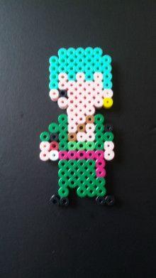 Zoro One Piece perler beads