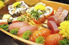 Set menu đúng chất Nhật Bản dành cho 02 người tại Ngọc Sushi