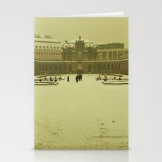 Last Winter in Dresden Stationery Cards by Anja Hebrank - $12.00  #colour #dresden #zwinger #architecture #germany #snow #winter #schnee #vintage #streetphotography #canon #present #decoration #travelling #travelphotography #design #individual #society6 #print #art #artprint #interior #decoration #design #card #stationarycard