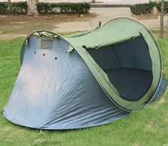 New Pop Up Tent Waterproof Sleeping Camping Hiking 1-2 Person Easy Fold Back