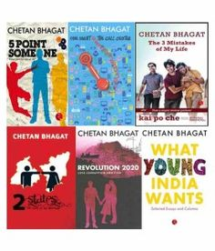 A must have for all of the Chetan Bhagat fans.. Chetan Bhagat's Combo of 6 Books @  Snapdeal.com
