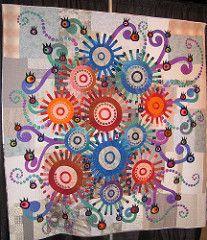 Flowers of Curiosity (Mellicious) Tags: flower eye festival japan quilt houston exhibit shiraishi 2007 iqf