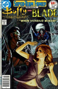 Buffy the Vampire Slayer and Blade Team-Up - Joss Whedon x Marvel Comics Crossover
